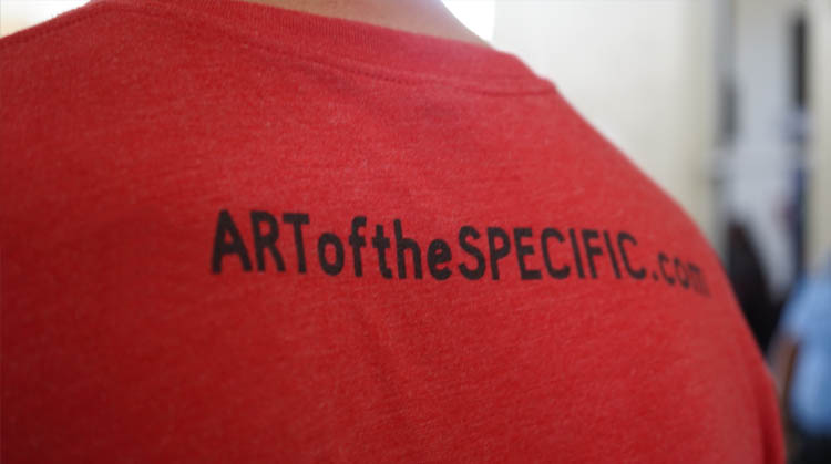 The Art of the Specific